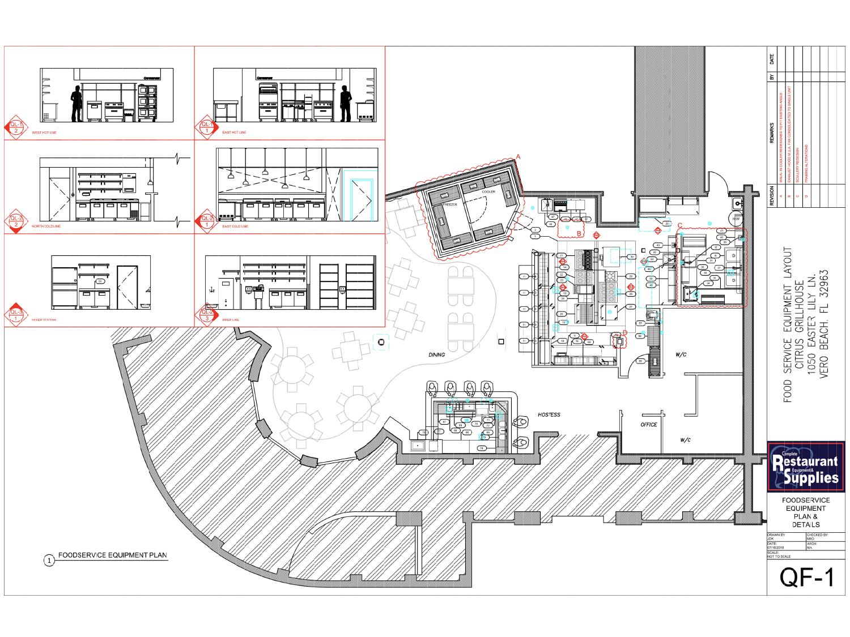 Floor Plans Commercial Kitchen