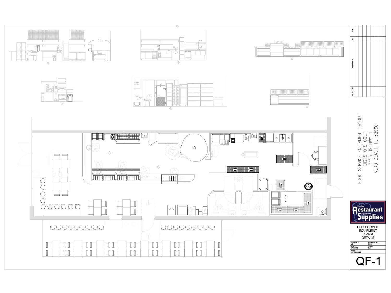 blueprint commercial kitchen