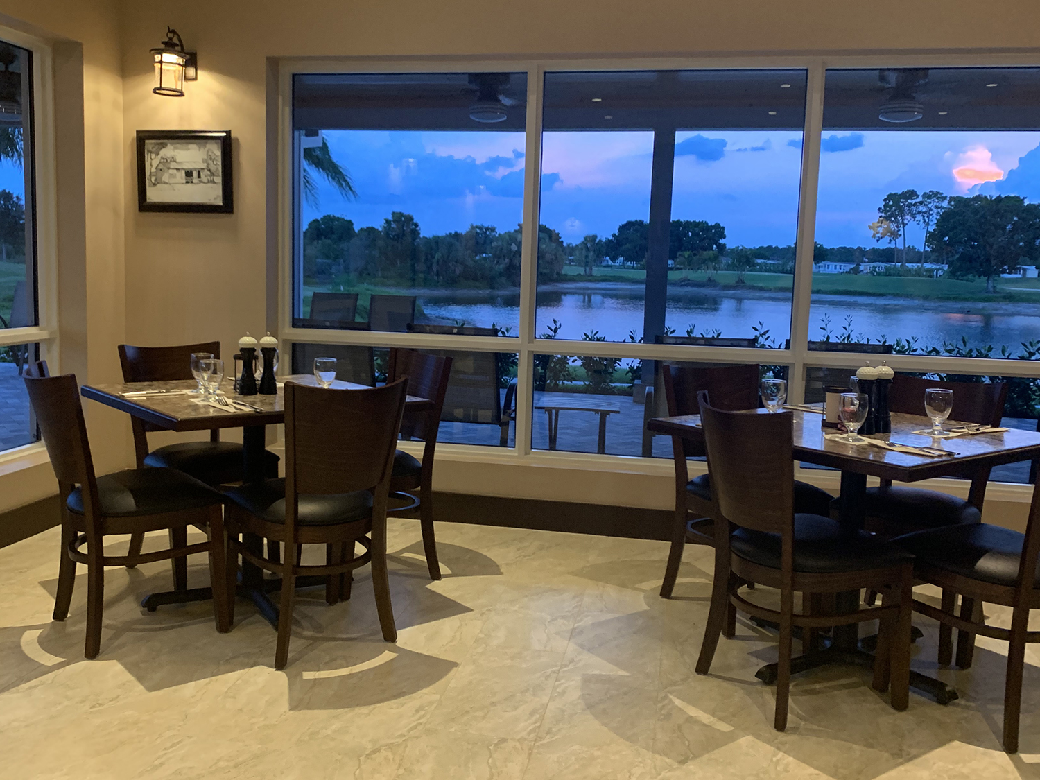 dining tables chairs restaurant country club