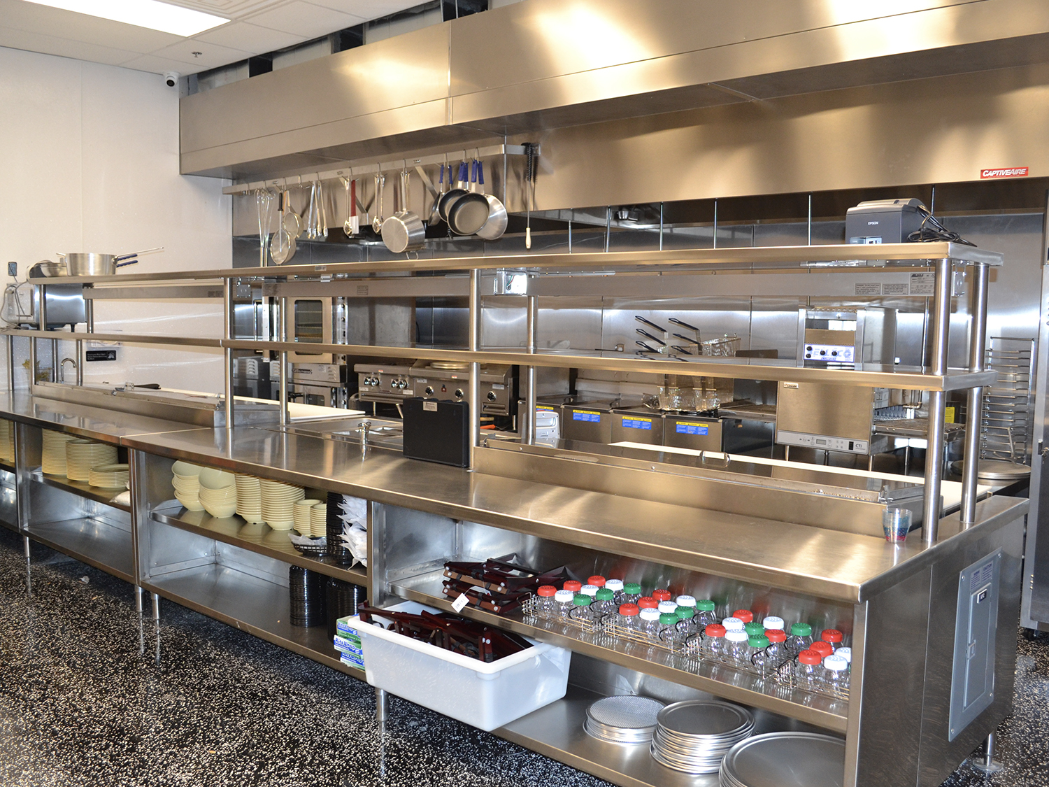 serving station foodservice custom fabrication