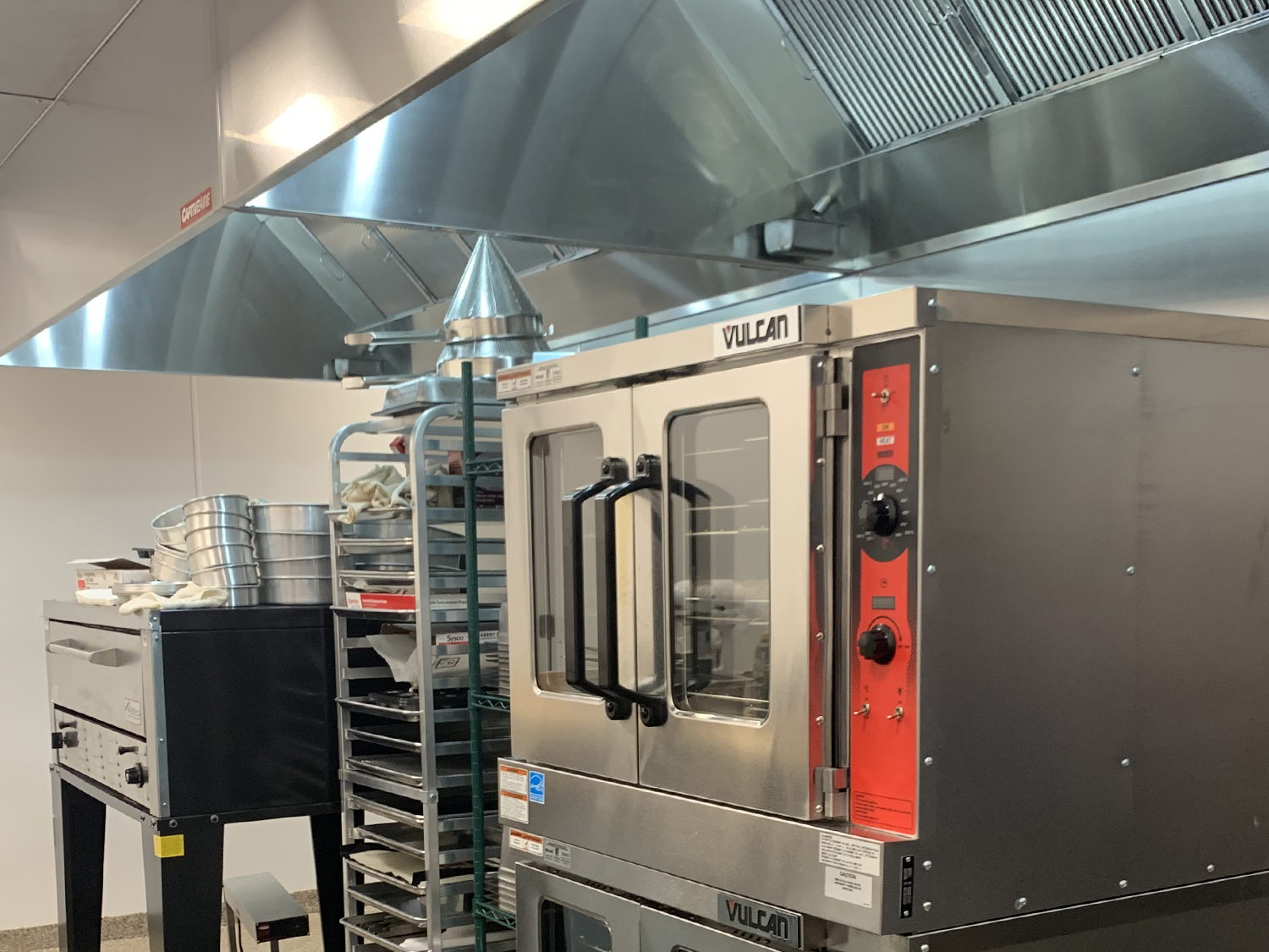 vulcan oven two deck commercial kitchen